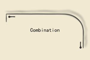 combination pole guide